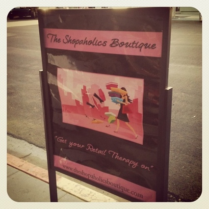 the shopaholics boutique little Italy San Diego