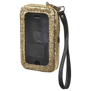 target mossimo glittery iPhone holder case