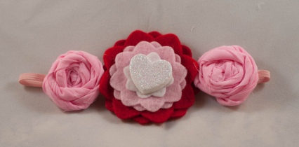 bitty baby bands headbands valentine's day