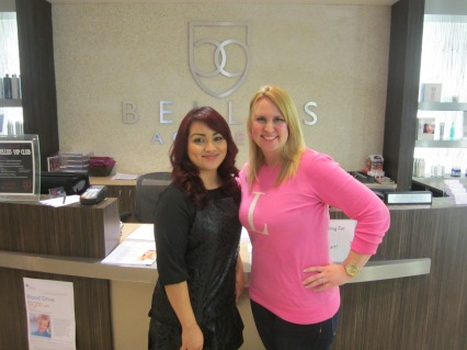 bellus academy salon poway, ca reception desk