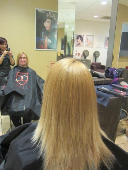 pretty, soft, post-salon hair