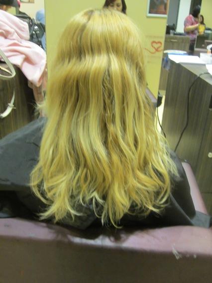 scary pre-salon hair