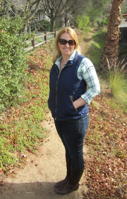 target plaid shirt old navy quilted vest